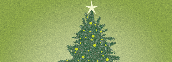 Creating an Earthy Christmas Tree in Illustrator