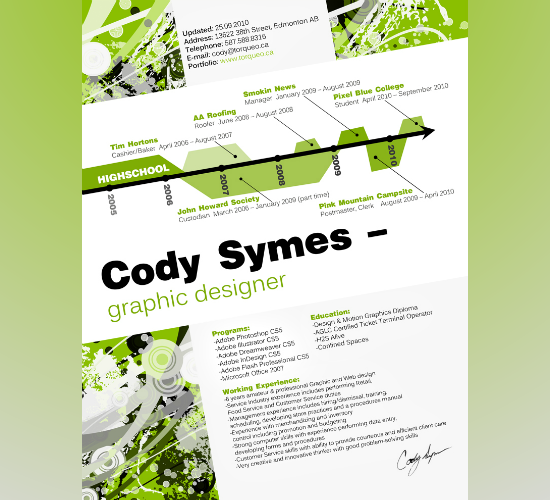 Cody's Resume by Cody Symes
