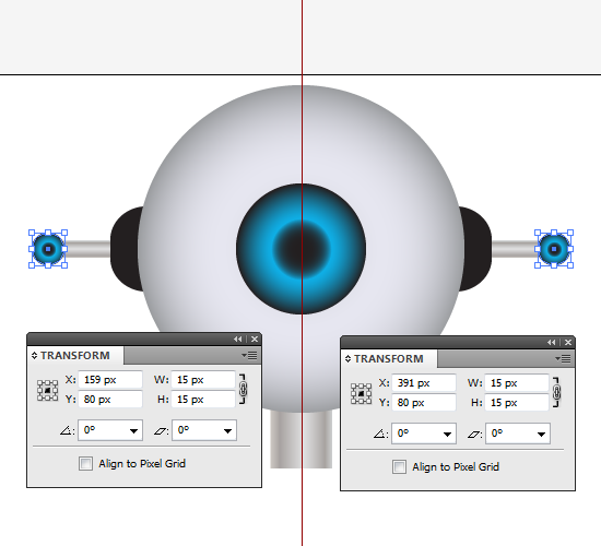 Ellipse Tool Bulb Transform