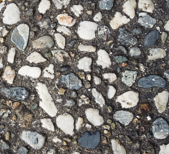 Rocks in Cement