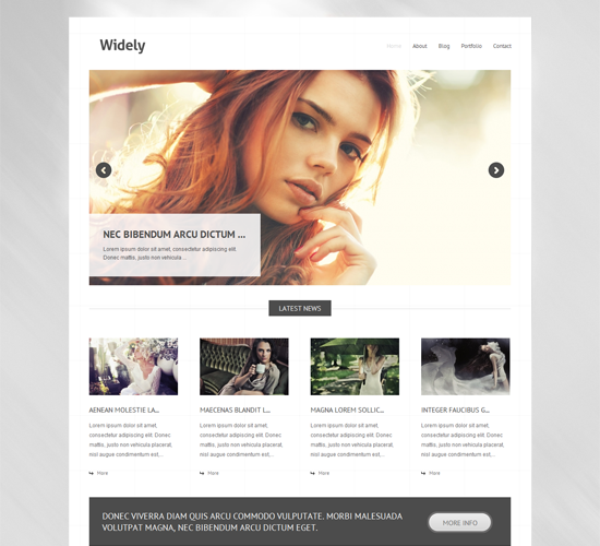 20 Free Photography WordPress Themes – Yvelle Design Eye