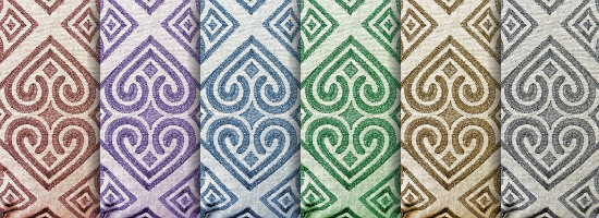 Fabric Pattern Title Header
