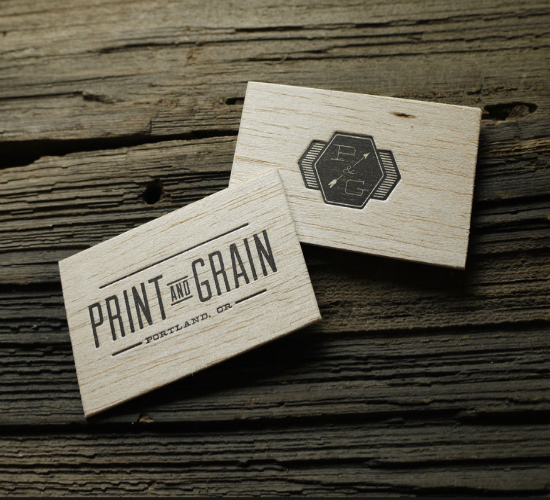 20 creative letterpress business cards yvelle design eye letterpress wood and cotton paper bc by print grain reheart Image collections