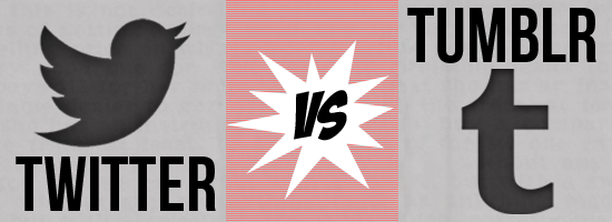 Design Battle Week of December 30th – January 5th: Twitter vs. Tumblr