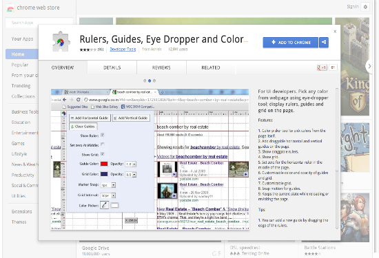 Google Chrome Extensions Color Picker 113