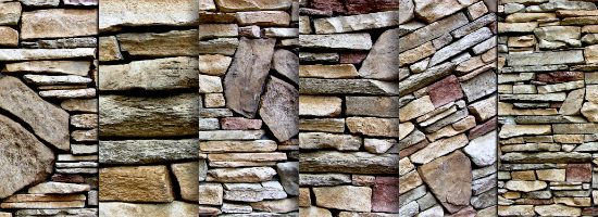 Stone Wall Title Header