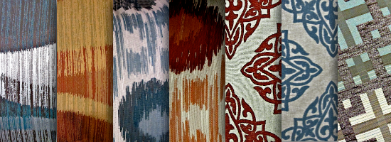 Fabric Pattern No.2 Title Header