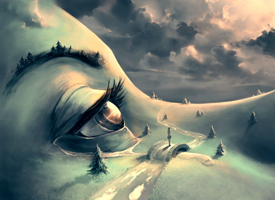 After the rain by Cyril Rolando